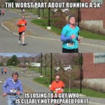 The Worst Part About Running A 5k...