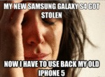 My New Samsung Galaxy S4 Got Stolen...
