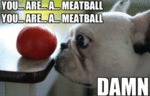 You... Are...a... Meatball