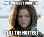 90% Of Body Covered...