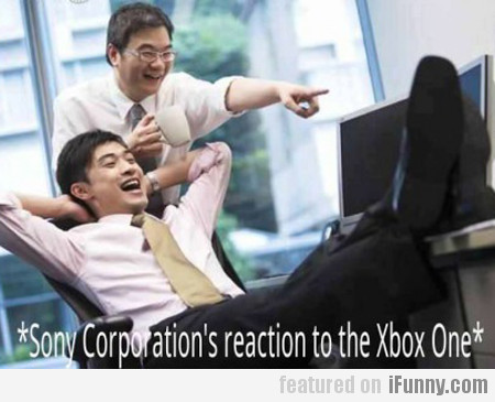 sony's reaction to the xbox one