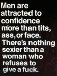 Men Are Attracted To Confidence