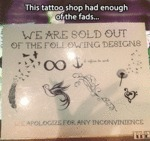 This Tattoo Shop Had Enough Of The Fads...