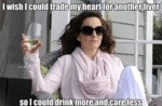 I Wish I Could Trade My Heart For Another Liver...