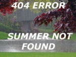404 Error, Summer Not Found