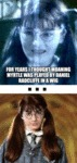 For Years I Thought That Moaning Myrtle Was...