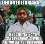 Dear Vegetarians...