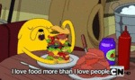 I Love Food More Than I Love People
