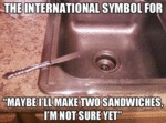 The International Symbol For...
