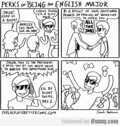 Perks Of Being An English Major