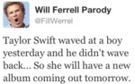 Taylor Swift Waved At A Boy Yesterday And He...