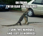 Oh Frank. I'm So Glad You're Alive!