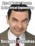 Has A Master Degree In Electrical Engineering...