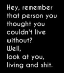 Hey, Remember That Person You Thought You...