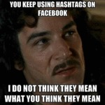 You Keep Using Hashtags On Facebook...