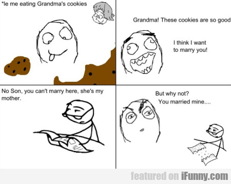 Me Eating Grandma's Cookies