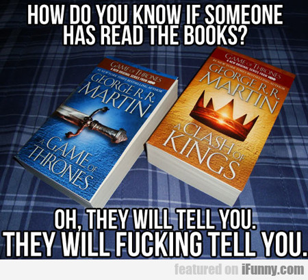 How Do You Know If Someone Has Read The Books?