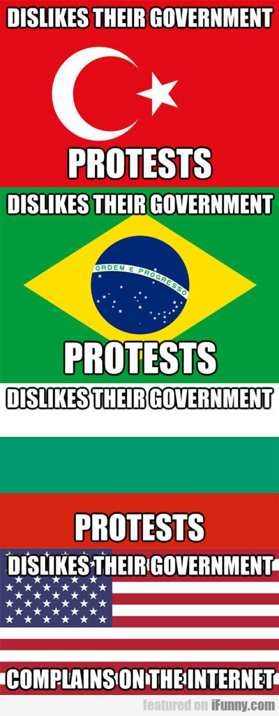 Dislikes Their Government...
