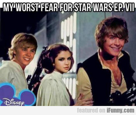 my worst fear for star wars...