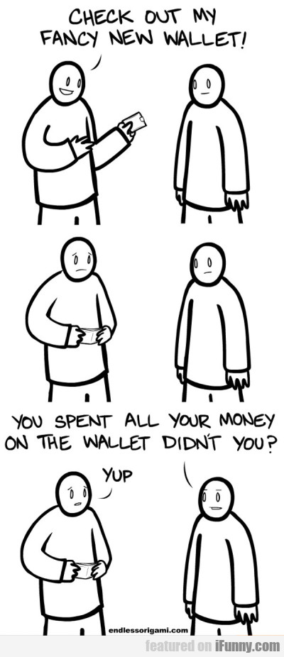 Check Out My Fancy New Wallet | iFunny.com - photo#35