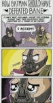 How Batman Should Have Defeated Bane