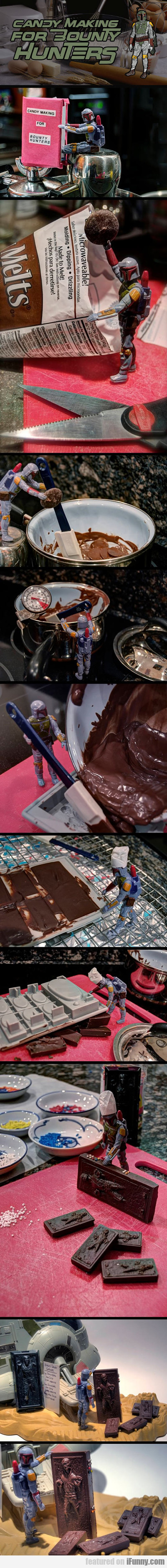 candy making for bounty hunters...