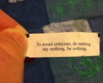 To Avoid Criticism, Do Nothing