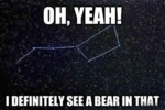 Oh, Yeah! I Definitely See A Bear In That