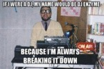 If I Were A Dj, My Name Would Be Dj Enzyme