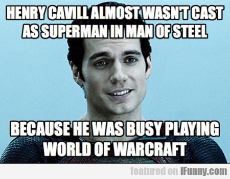 henry cavill almost wasn't cast as superman...