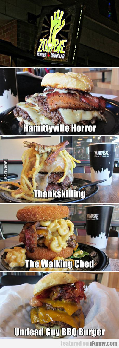 Zombie Burger And Drink Lab...