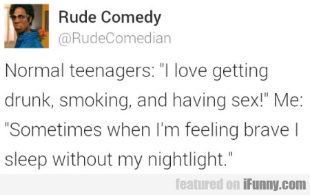 Normal Teenagers: I Love Getting Drunk, Smoking..