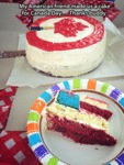 My American Friend Made Us A Cake For Canada...