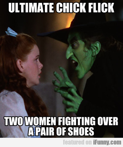 Ultimate Chick Flick, Two Women Fight Over...