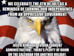 We Celebrate The 4th Of July As A Reminder...