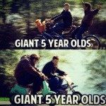 Giant 5 Year Olds