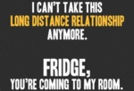 I Can't Take This Long Distance Relationship...