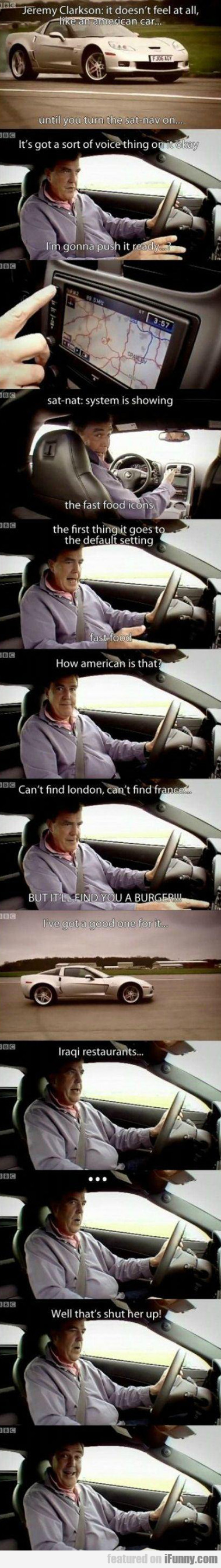 Jeremy Clarkson: It Doesn't Fell At All Like An...