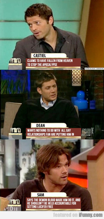 Supernatural Vs Maury