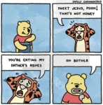 Sweet Jesus Pooh ! That's Not Honey !