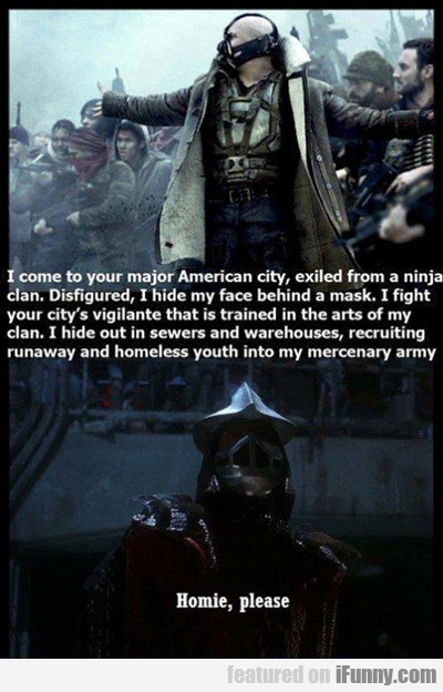 I Come To Your Major American City...