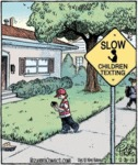 Slow Children Texting
