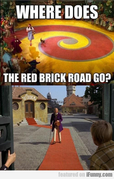 Where Does The Red Brick Road Go?