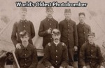 World's Oldest Photobomber...