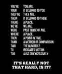 Grammar: It's Really Not That Hard, Is It?