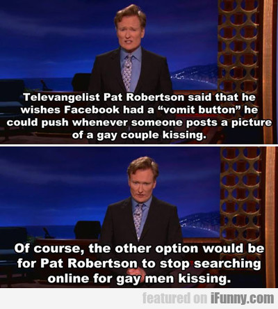 Televangelist Pat Robertson Said That He Wishes...