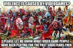 Violence Is Caused By Videogames?