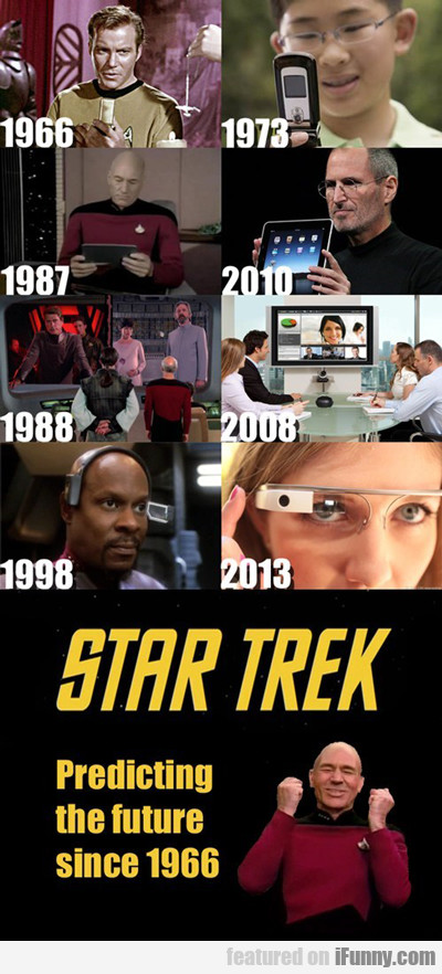 Star Trek, Predicting The Future Since 1966