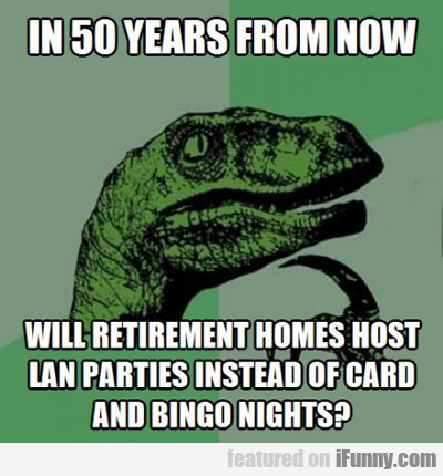 In 50 Years From Now...