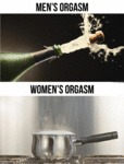 Men's Orgasm Vs Women's Orgasm